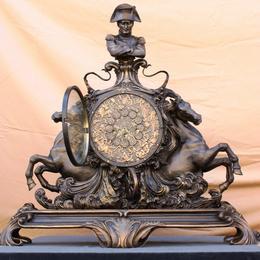 """Часы из бронзы """"Наполеон"""""""