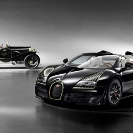Bugatti представила модель Veyron Black Bess Edition