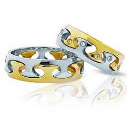 Эксклюзивные парные обручальные кольца