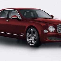 Bentley представляет особый тираж Mulsanne, выпущенный к 95-летию бренда