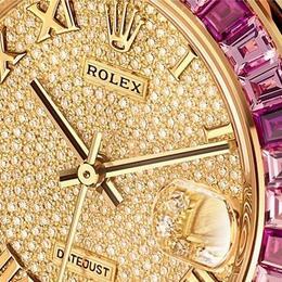 Буйство красок в Rolex Lady Oysters Perpetual Datejust Pearlmaster