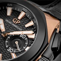 Старт запуска официальных продаж Girard-Perregaux Chrono Hawk, выполненных из розового золота