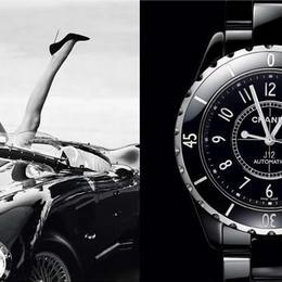 L'Instant Chanel: стильные часы в черно-белой гамме