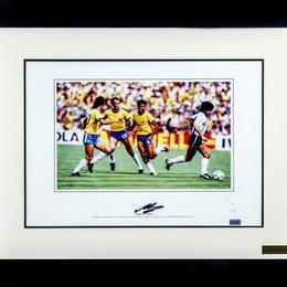 Автограф Диего Марадона