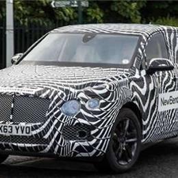 Первые шпионские снимки внедорожника Bentley 2016