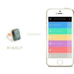 Ringly: красота мобильных технологий для женщин
