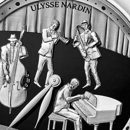 Ulysse Nardin представляет выпущенную ограниченным тиражом модель Jazz Minute Repeater