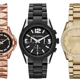 Karl Lagerfeld представляет новую коллекцию, включающую часы и браслет