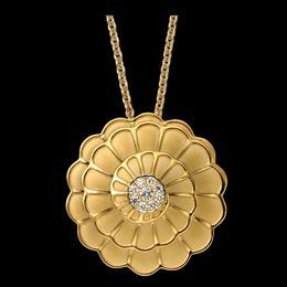 Carrera Afrodita Large 18K YG with diamonds