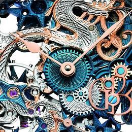 Grieb & Benzinger создали часы со скелетоном для любителей китайской символики