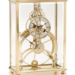 Rosemary Great Wheel & Brighton Pavillion Clock Gold Finish