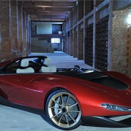 Ferrari представляет родстер Pininfarina Sergio