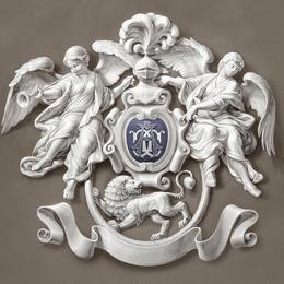 Фамильный герб с монограммой