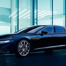 Потрясающе роскошный Aston Martin Lagonda Super Saloon