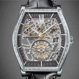 Vacheron Constantin представляет часы Malte Tourbillon Openworked Gemset