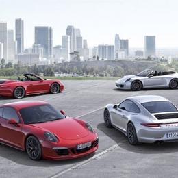 Porsche представляет новый 911 GTS