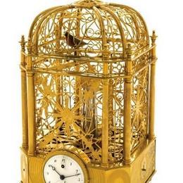 Automation singing bird от Jaquet Droz: редчайшие часы с птицей, поющей в клетке - по цене $305,000