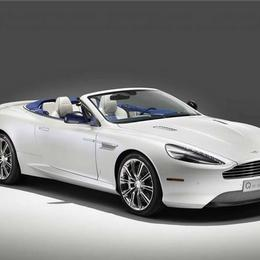 Q by Aston Martin представляет DB9 Volante Morning Frost