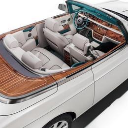 Rolls Royce выпускает Maharaja Phantom Drophead Coupé, посвященную золотому веку индийской королевской семьи