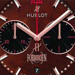 Hublot Forbidden: часы с циферблатом, изготовленным из листьев табака