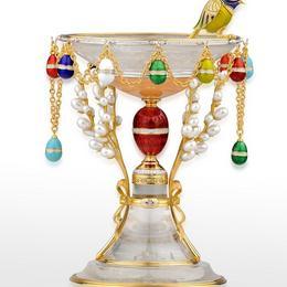 Чаша и колье Светлый праздник