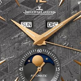 Jaeger Lecoultre представляет Master Calendar – часы с циферблатом, изготовленным из метеорита