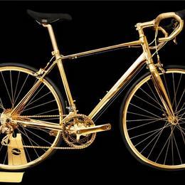Велосипед с покрытием из 24-каратного золота за астрономические $470 000