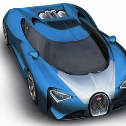 Bugatti Chiron: преемник Veyron с электродвигателем на 1500 л.с., развивающий скорость 463 км/час