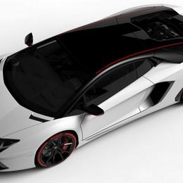 Lamborghini Aventador LP 700-4 с двухцветным оформлением