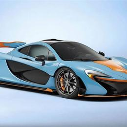 Единственный в своем роде McLaren P1 с особой окраской корпуса