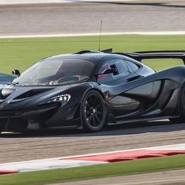 Дебют McLaren P1 GTR в Женеве