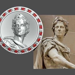 Запонки Цезарь