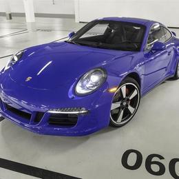 Лимитированное издание Porsche 911 GTS Club Coupe, посвященное 60-летию клуба Porsche в Америке