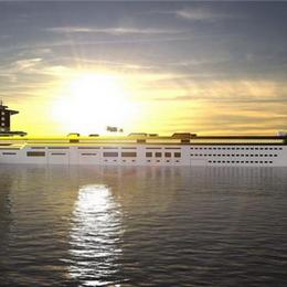 Imara: 280-метровый нефтяной танкер, превращенный в яхту с горнолыжным склоном и парковкой для 13 автомобилей