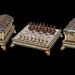 Шахматы с храмом