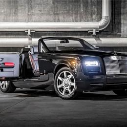 Rolls-Royce Phantom Drophead Coupe Nighthawk, вдохновленный истребителем Stealth
