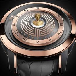 Christophe Claret Aventicum: часы с голограммой, изображающей римского императора