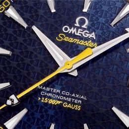 Omega представляет модель, вдохновленной Джеймсом Бондом – Omega Seamaster Aqua Terra 150M Master Co-Axial