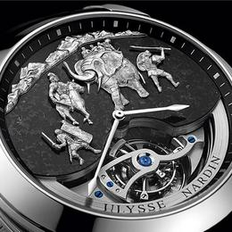 Ulysse Nardin Hannibal Minute Repeater: изысканная история