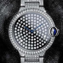 Ballon Bleu от Cartier: часы с вибрирующими бриллиантами