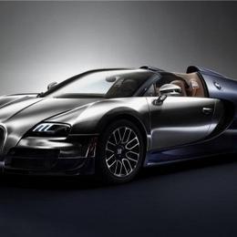 450-й и последний Bugatti Veyron, выпущенный к Женевскому автосалону