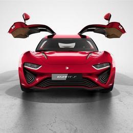Quant F: электрическое спортивное купе с подъемными дверями дебютирует в Женеве