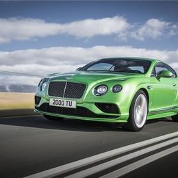 Линейка Bentley Continental GT в 2016 году претерпевает ряд обновлений