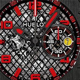 В преддверии Baselworld 2015: Hublot представляет Big Bang Ferrari Black Ceramic & Grey Ceramic