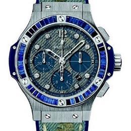 Hublot Big Bang Used Jeans Baguette: стильные часы для женщин