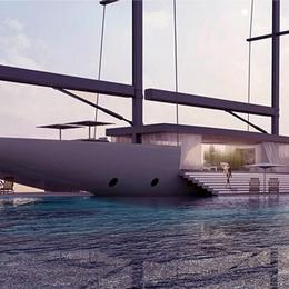 Концепт роскошной яхты «Salt», позволяющей беспрепятственно любоваться окрестностями