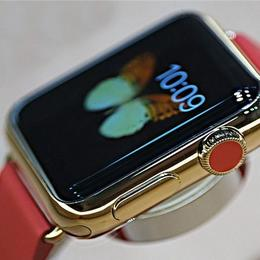 Золотые Apple Watch будут укомплектованы кожаной зарядной коробкой