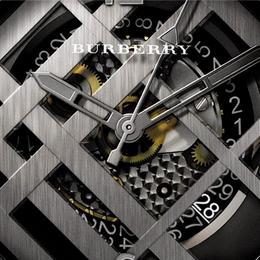Ограниченный тираж мужских часов Britain Icon Check for Men от легендарного Burberry