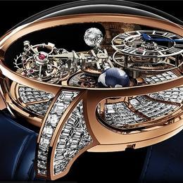 Jacob & Co представляют Astronomia Tourbillon Baguette – часы стоимостью $1 млн