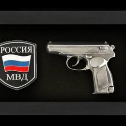 """Панно """"МВД"""""""
